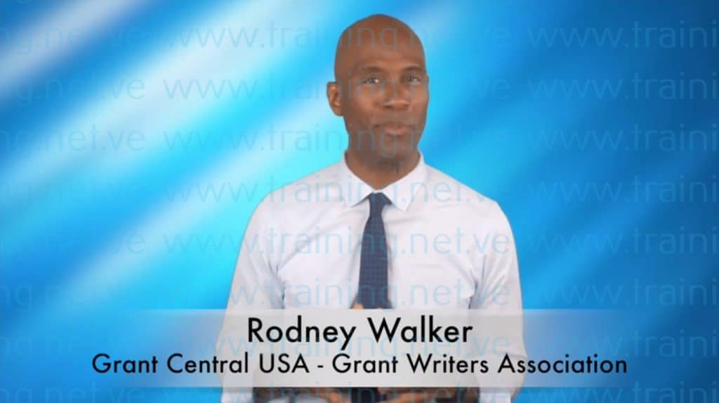 Grant Writing That Gets Funded Training Program by Rodney Walker Free