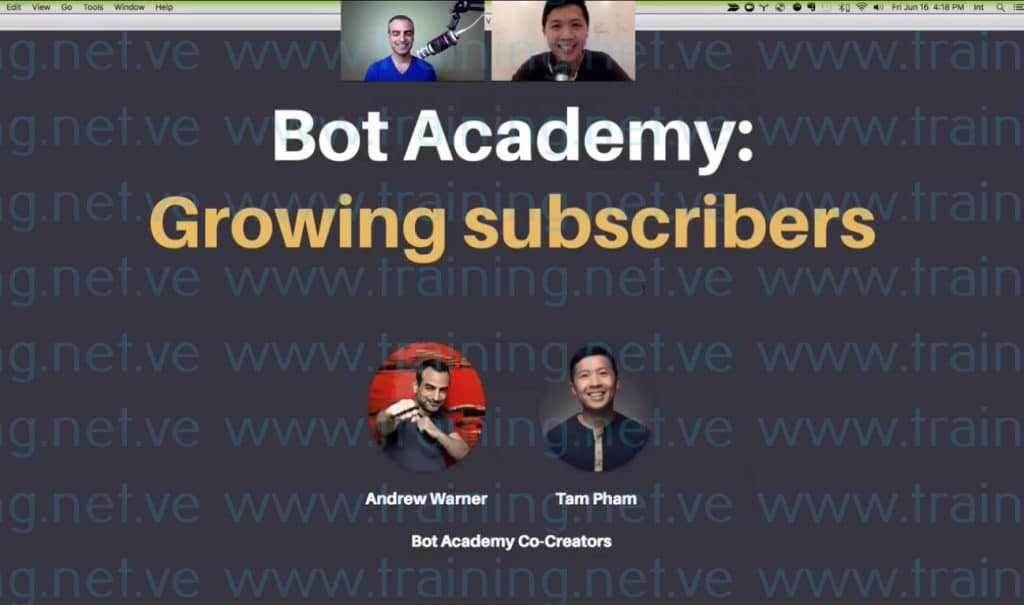 Bot Academy by Andrew Warner  Download