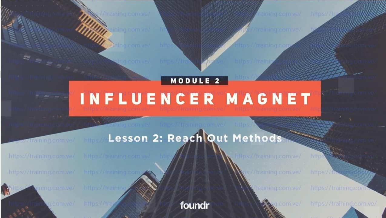 Influencer Magnet by foundr Download