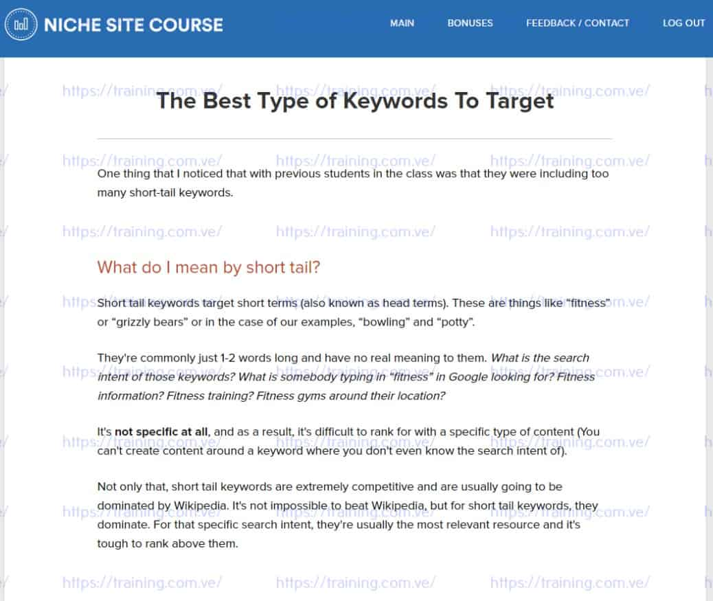 RankXL The Niche Site SEO Course v4.0 by Chris Lee Coupon