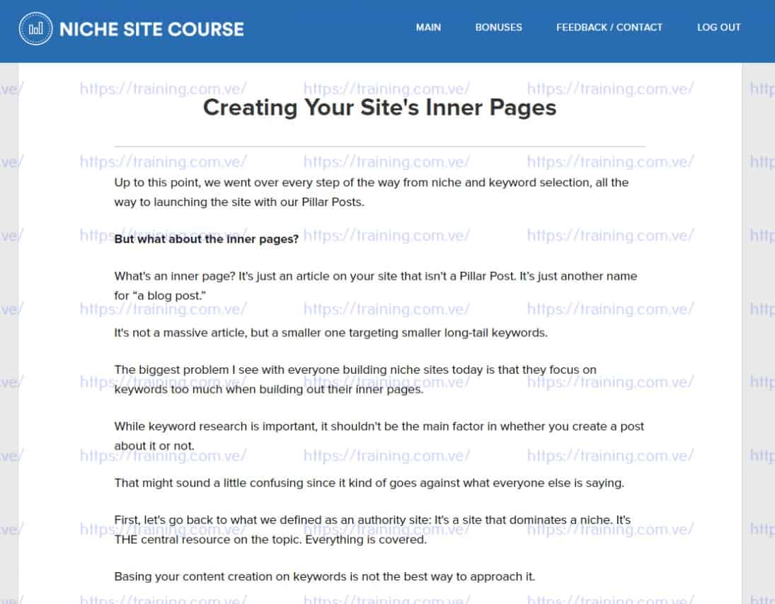 RankXL The Niche Site SEO Course v4.0 by Chris Lee Discount
