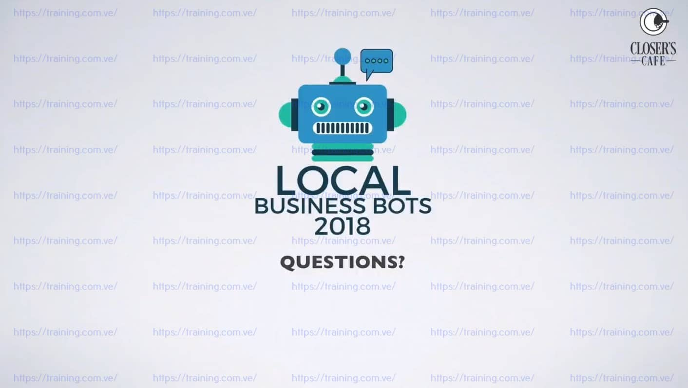 Local Business Bots 2018 standard by Ben Adkins free
