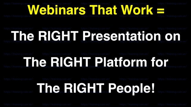 Webinars That Work by John Nemo free