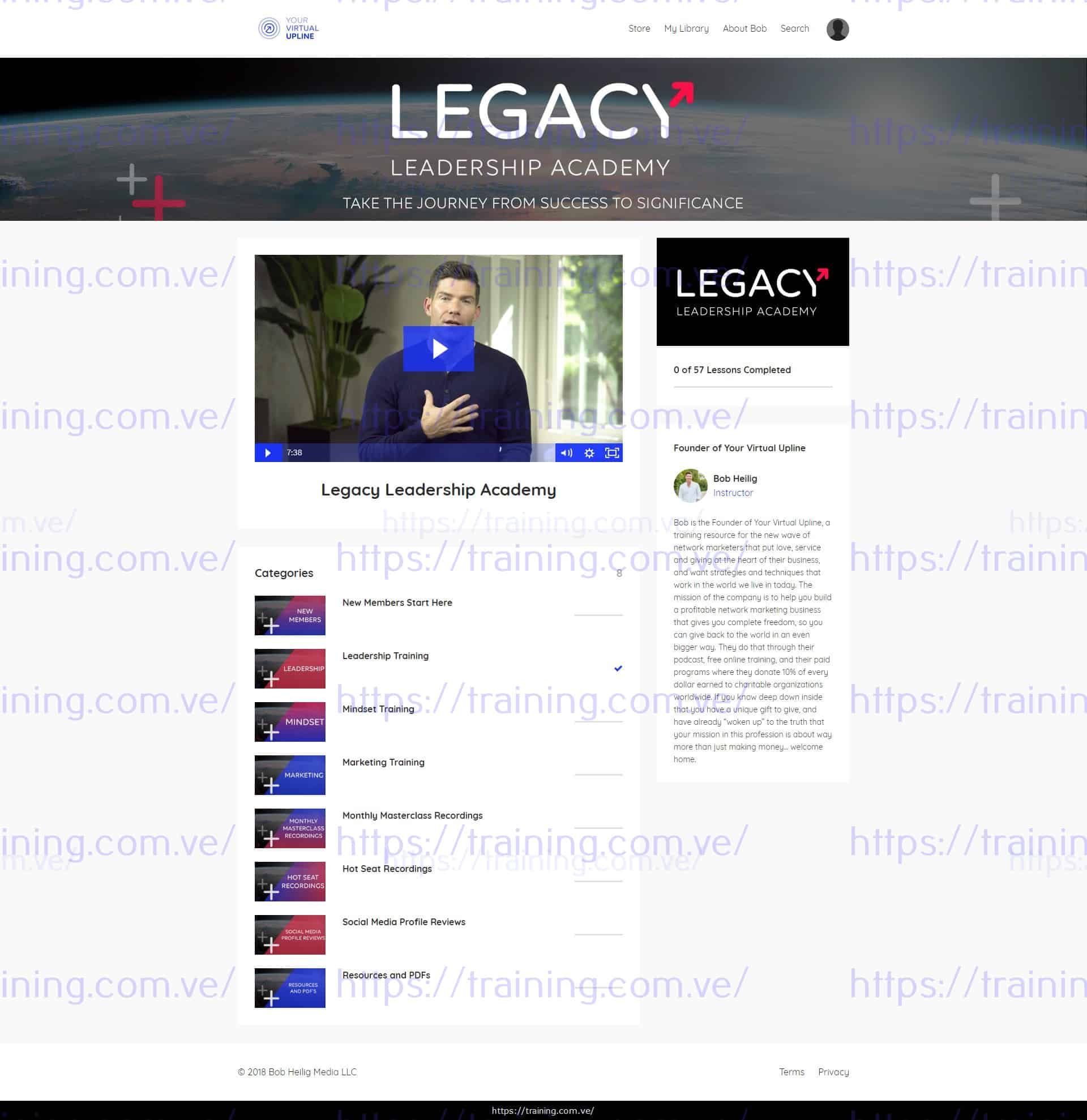 Download Legacy Leadership Academy by Bob Heilig