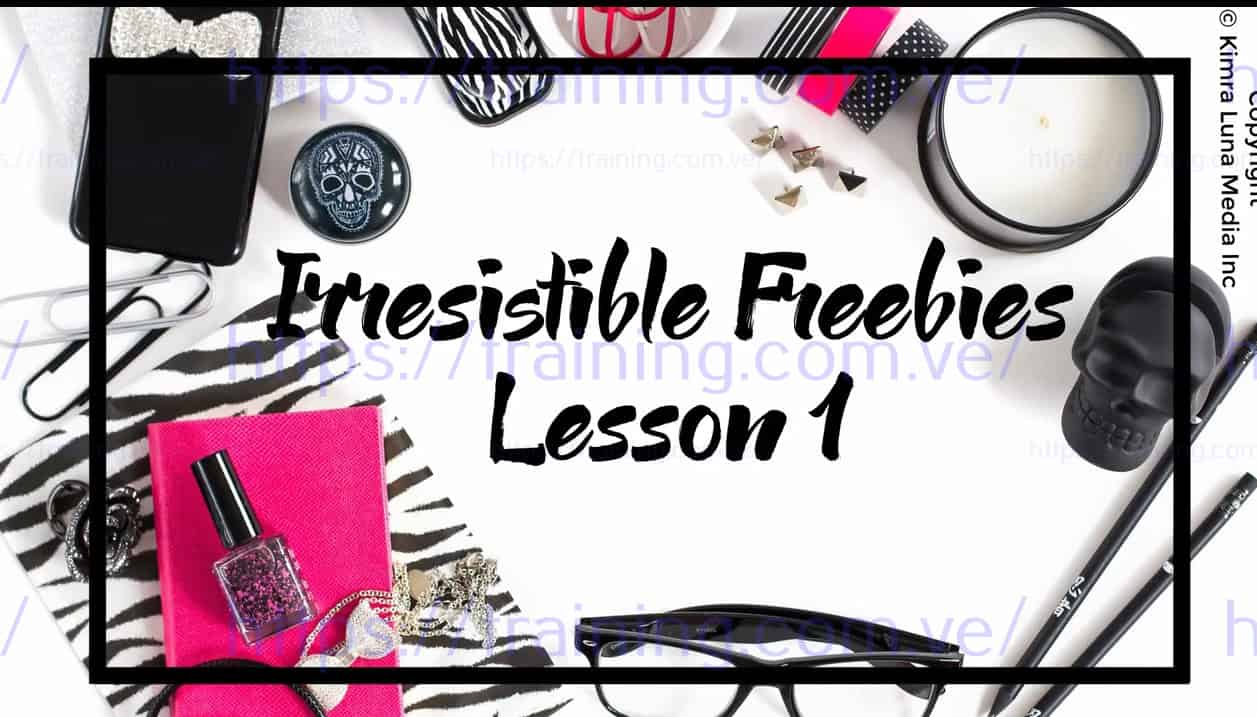 Download The Challenge Launch Method and Irresistible Freebiesby Kimra Luna