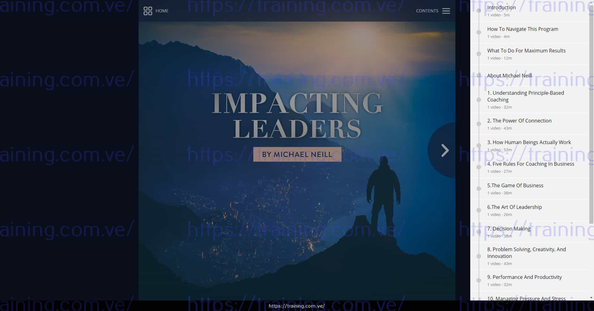 Impacting Leaders by Michael Neill Download