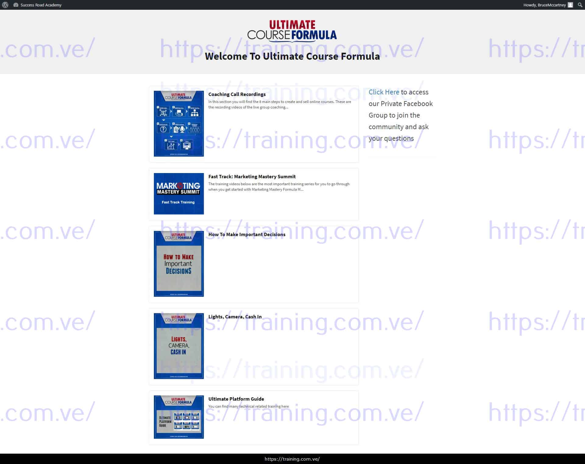 Ultimate Course Formula by Iman Aghay Download