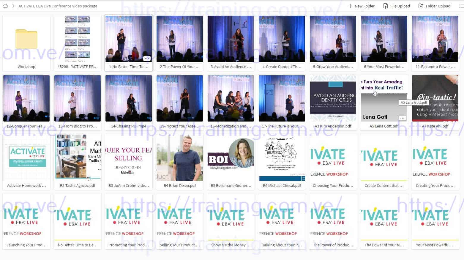 ACTIVATE 2017 EBA Live Conference Video package MAIN EVENT + WORKSHOP Torrent