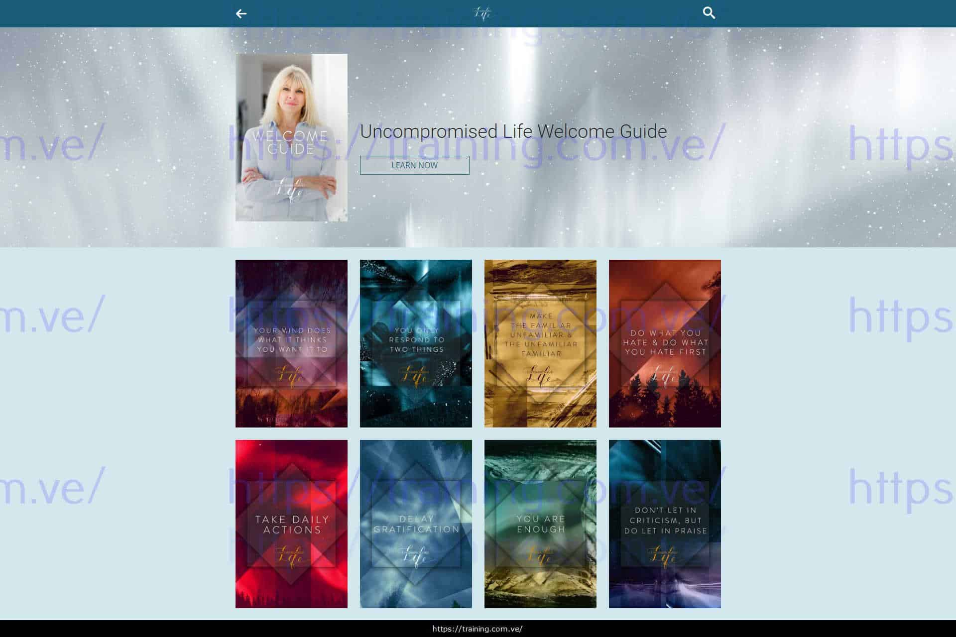 Uncompromised Life by Marisa Peer from Mindvalley Download