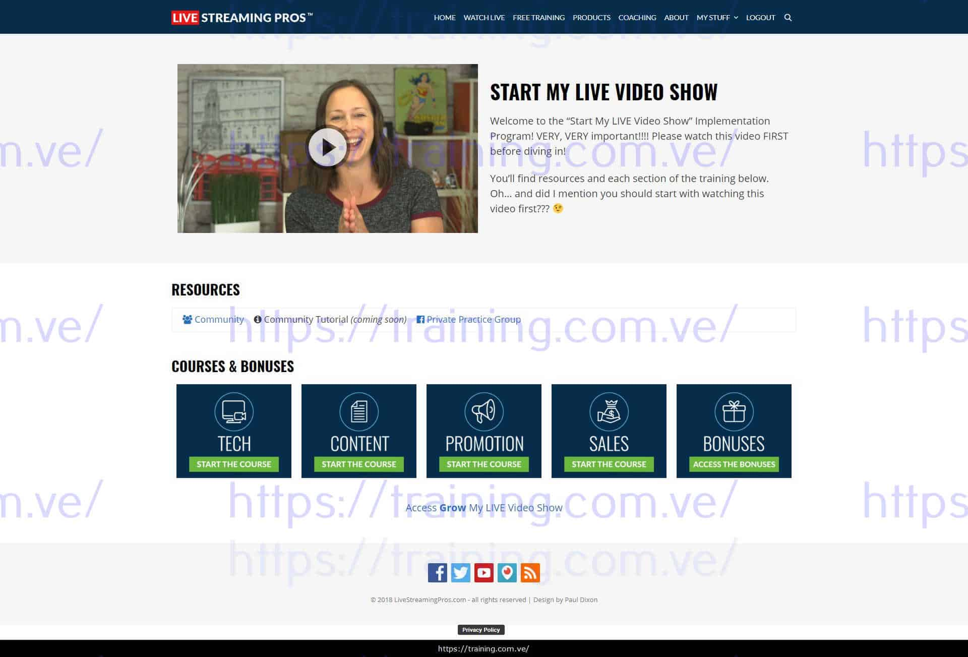 Start & Grow Your Professional Live Video Show by Luria and David Download
