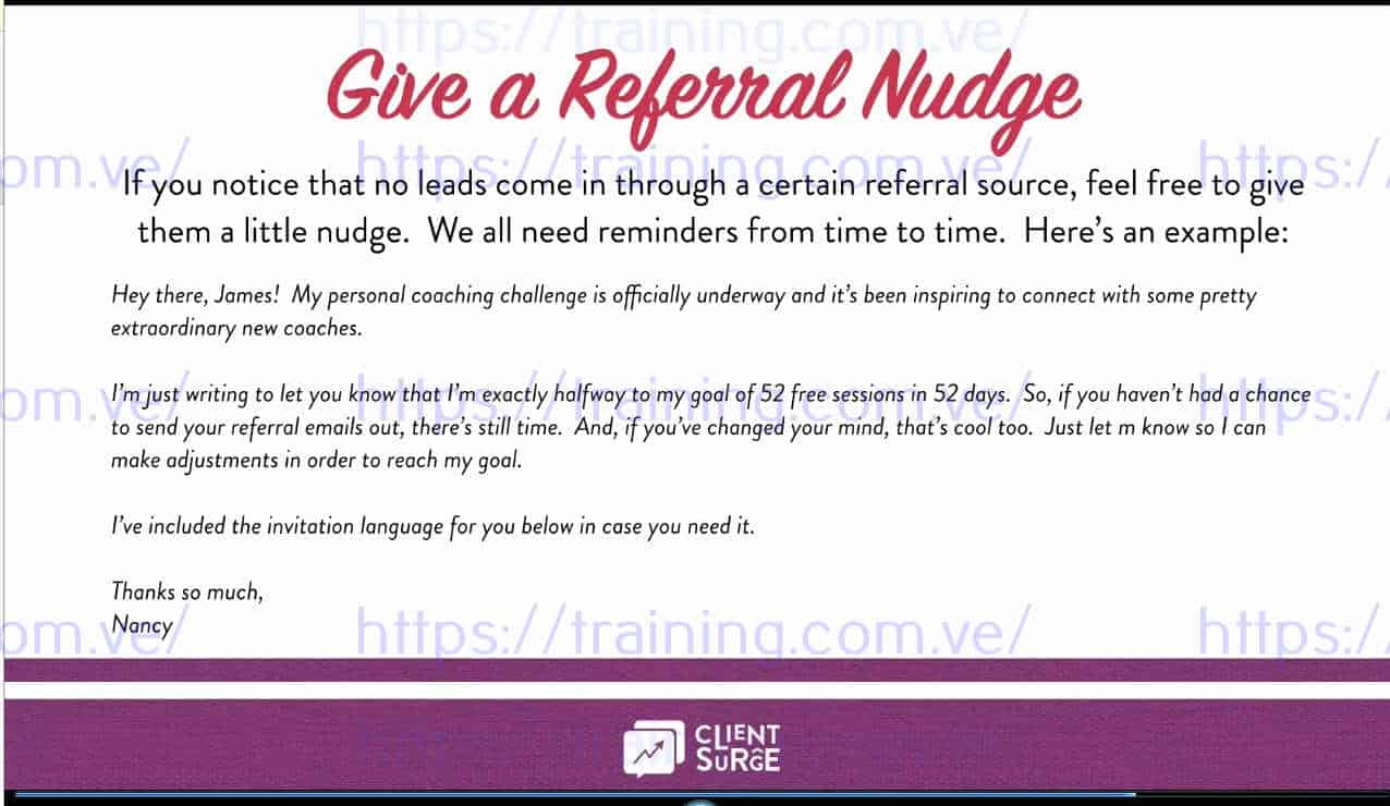 Client Surge System 8 Week Interactive Course by Dallas Travers Discount