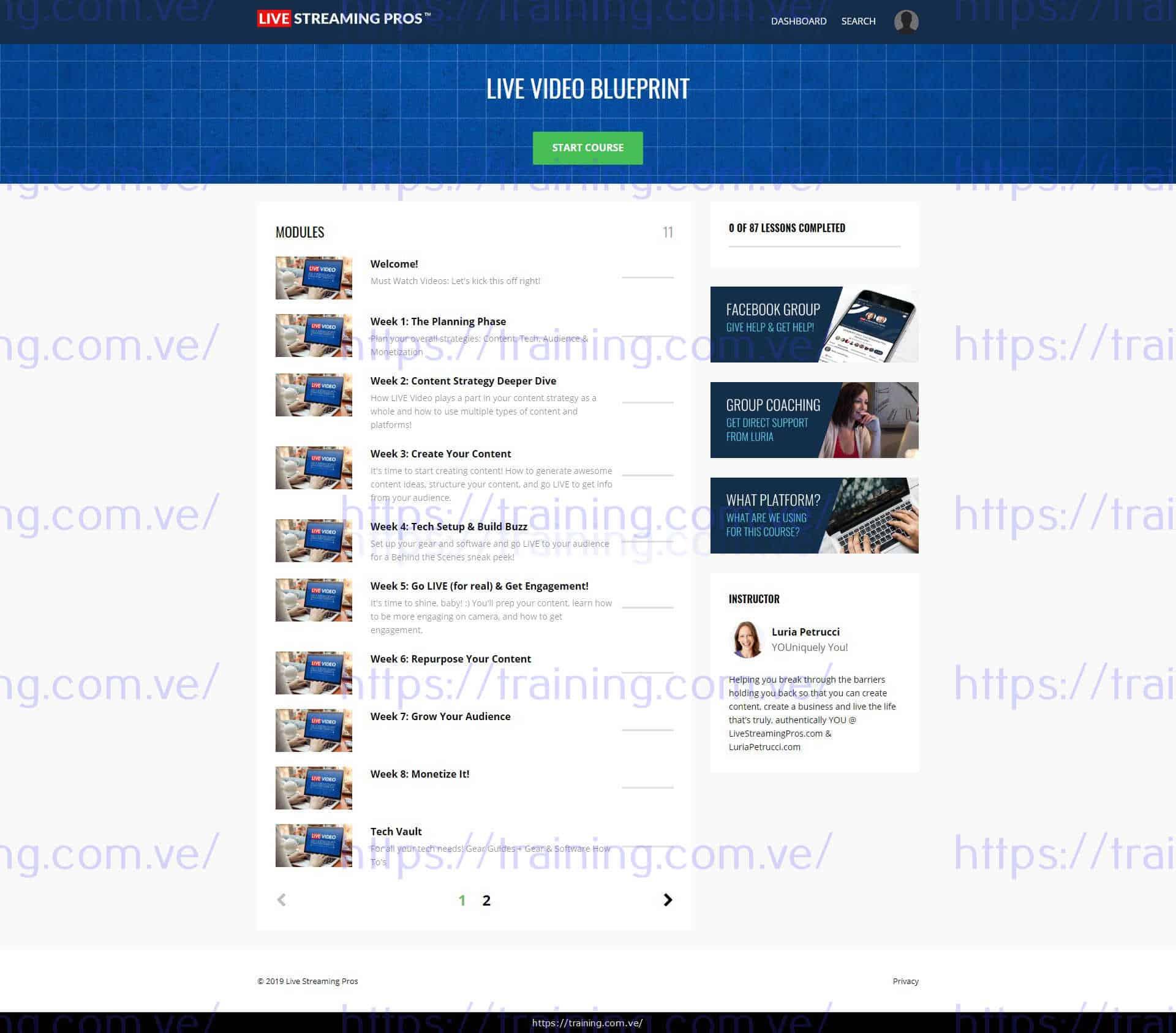 LIVE Video Blueprint torrent