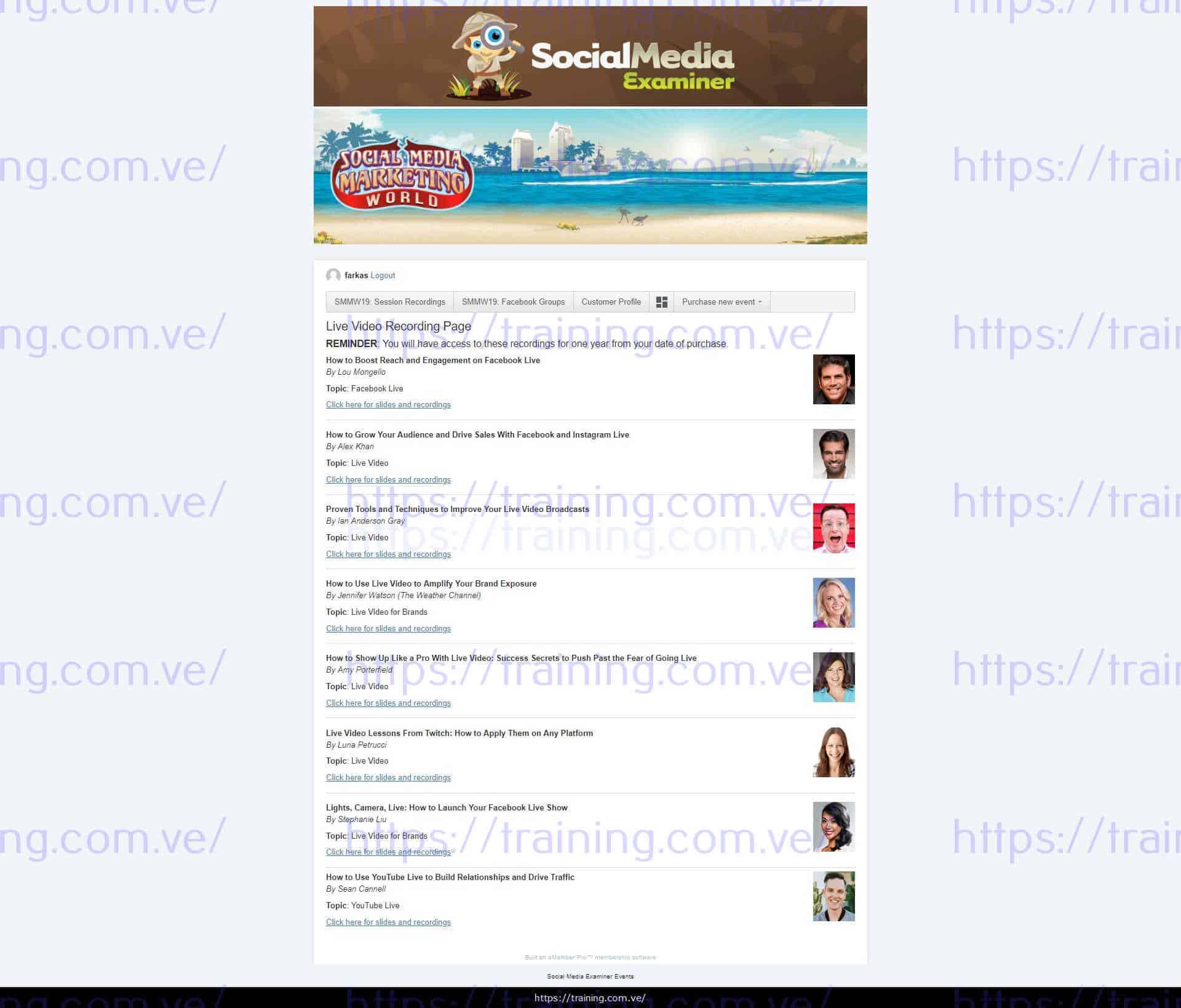 Social Media Marketing World 2019 Recordings torrent