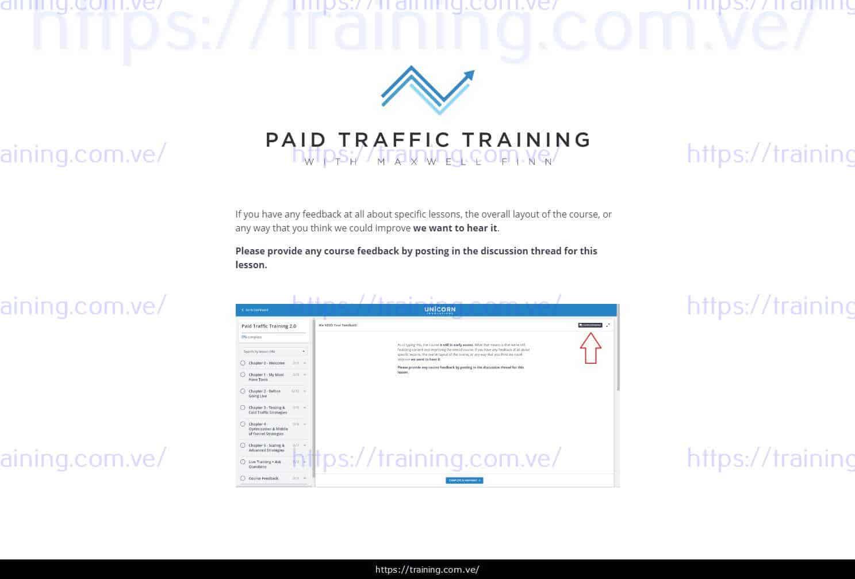 Paid Traffic 2.0 Training by Maxwell Finn Download