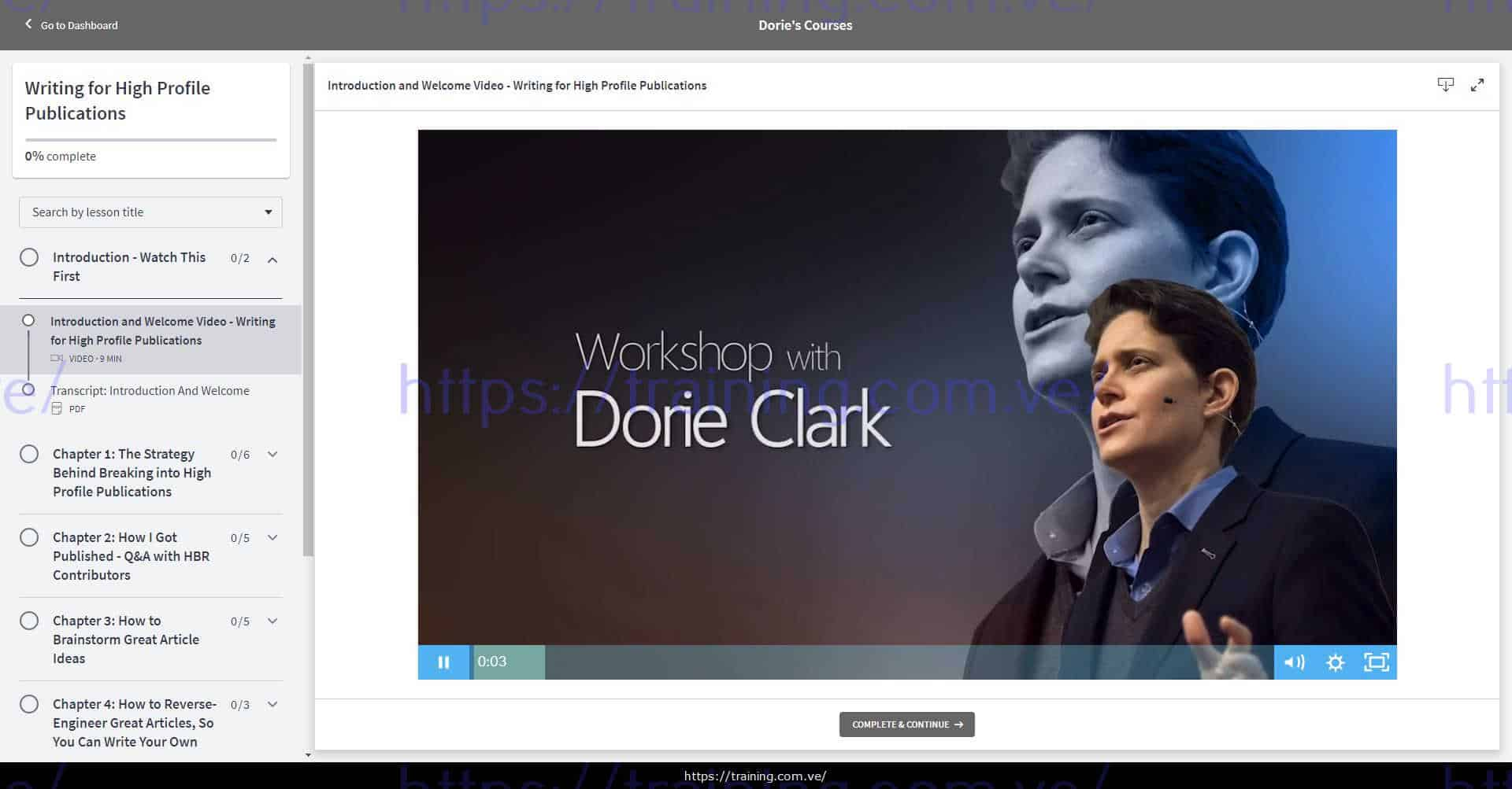 Writing for High Profile Publications by Dorie Clark Download
