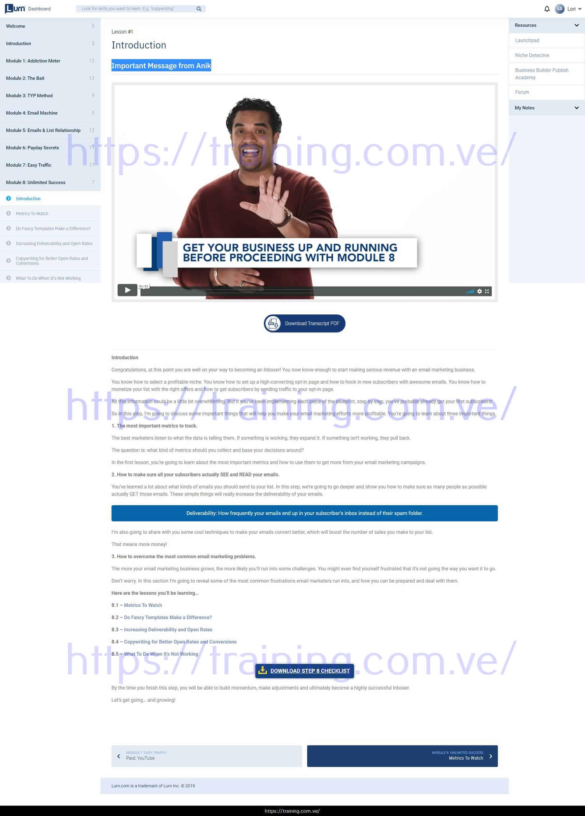 Inbox Blueprint by Anik Singal Download