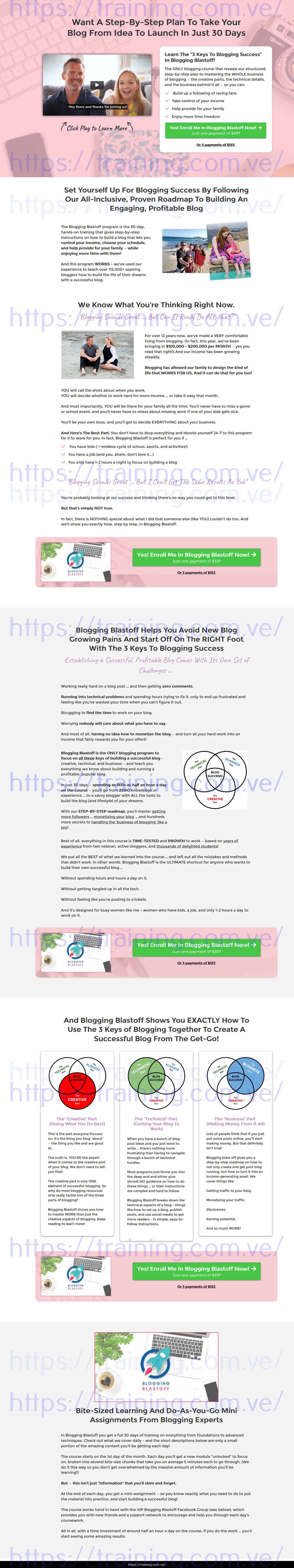 Blogging Blastoff by Heather Delaney Reese Buy
