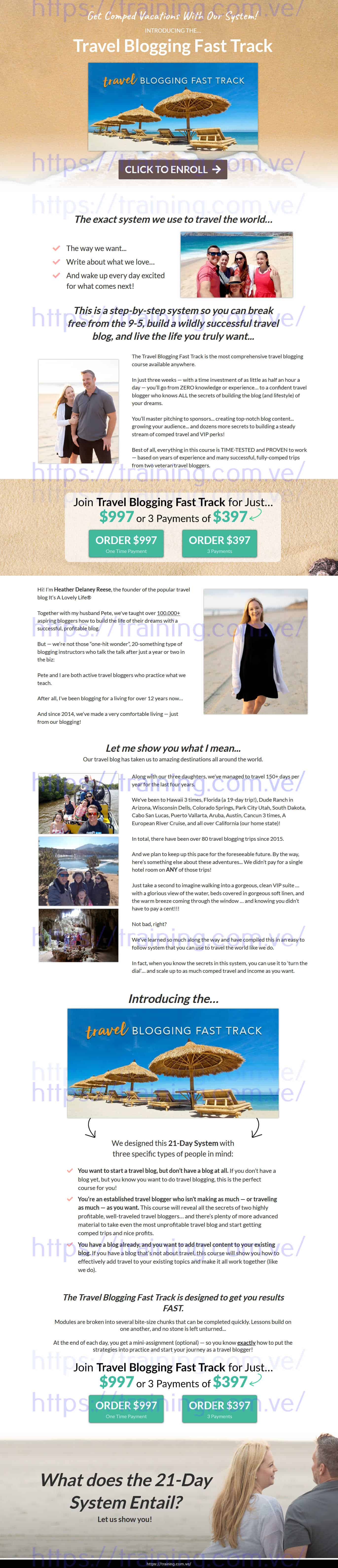 Travel Blogging Fast Track by Heather Delaney Reese Buy