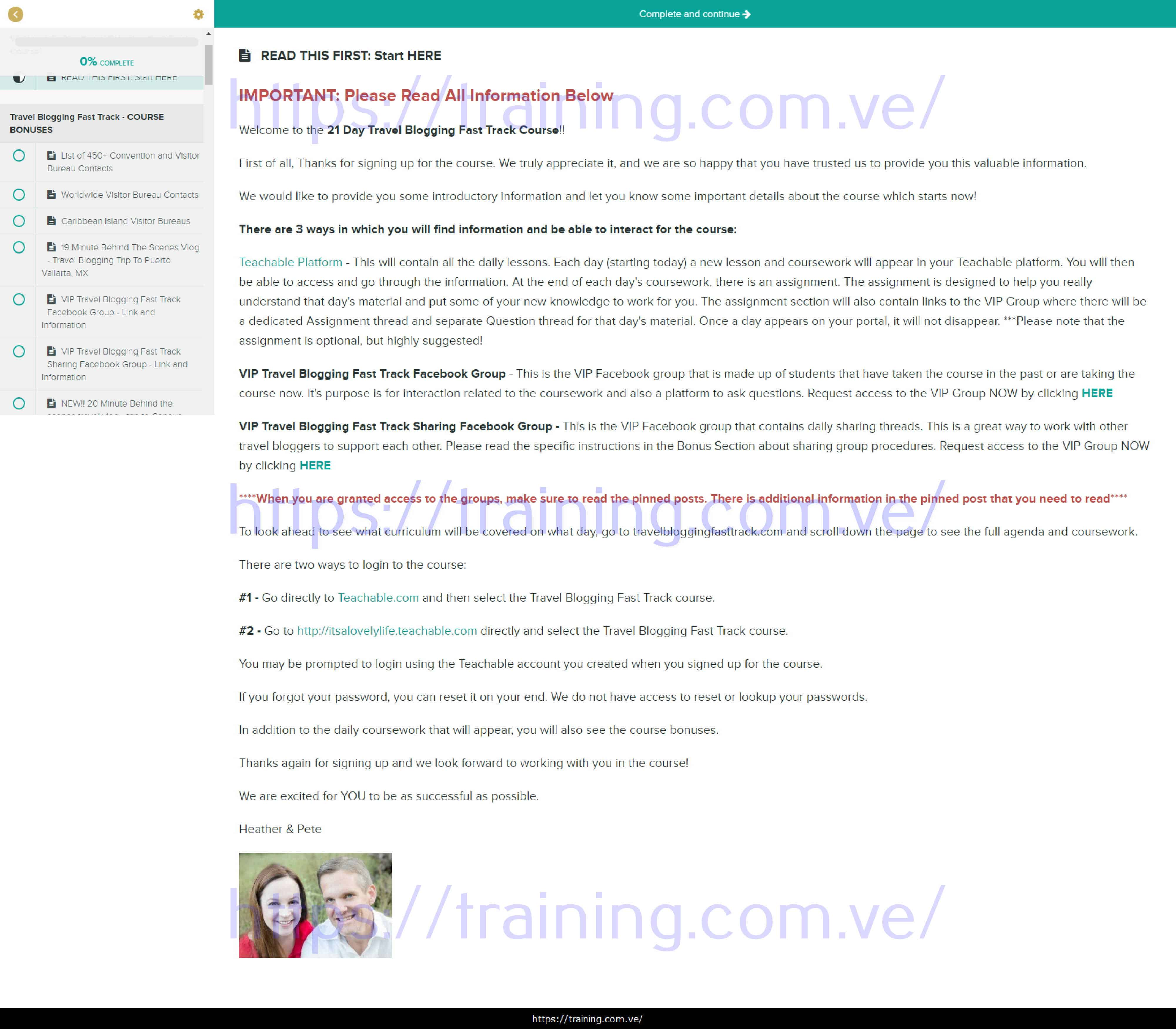 Travel Blogging Fast Track by Heather Delaney Reese Download