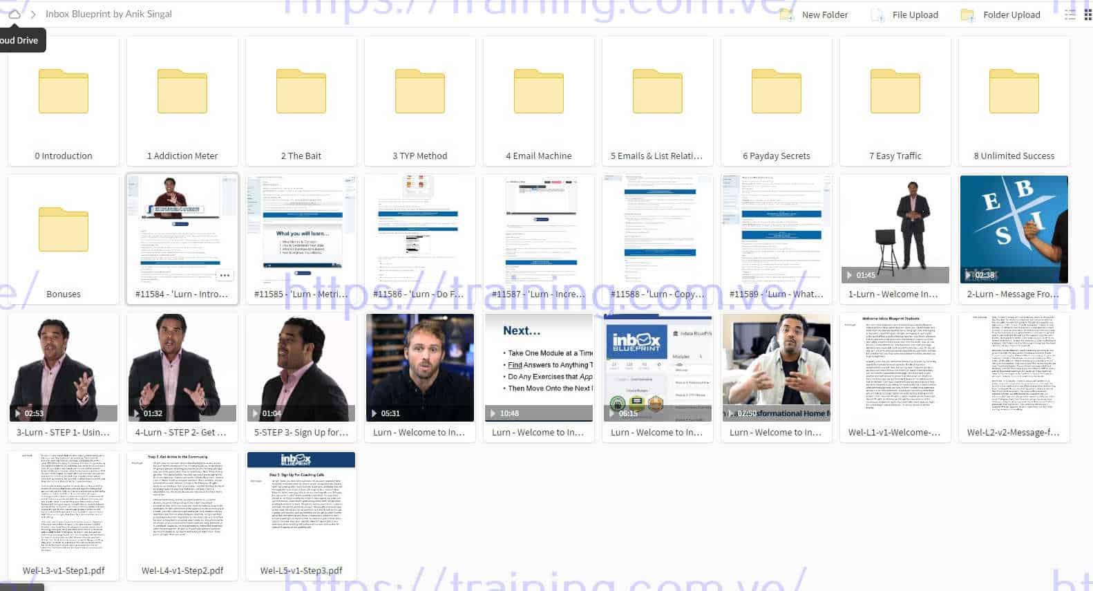 Inbox Blueprint by Anik Singal Torrent