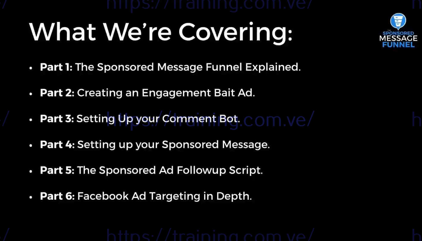 The Sponsored Message Funnel Advanced by Ben Adkins Get