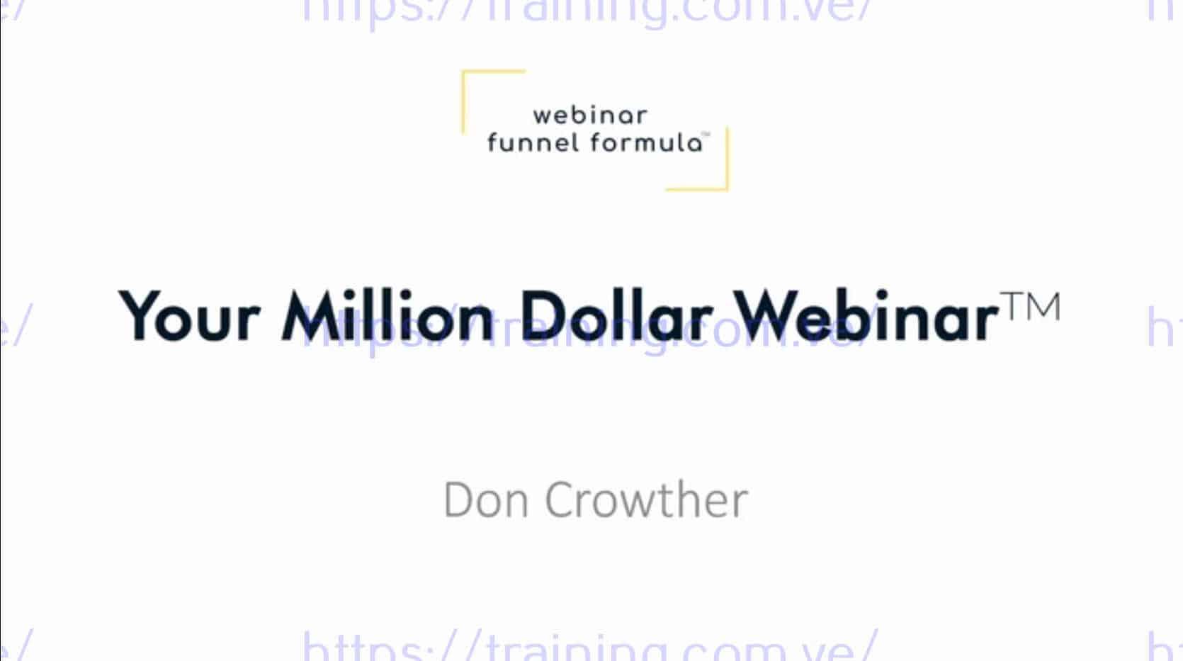 Webinar Funnel Formula by Jeff Walker Get