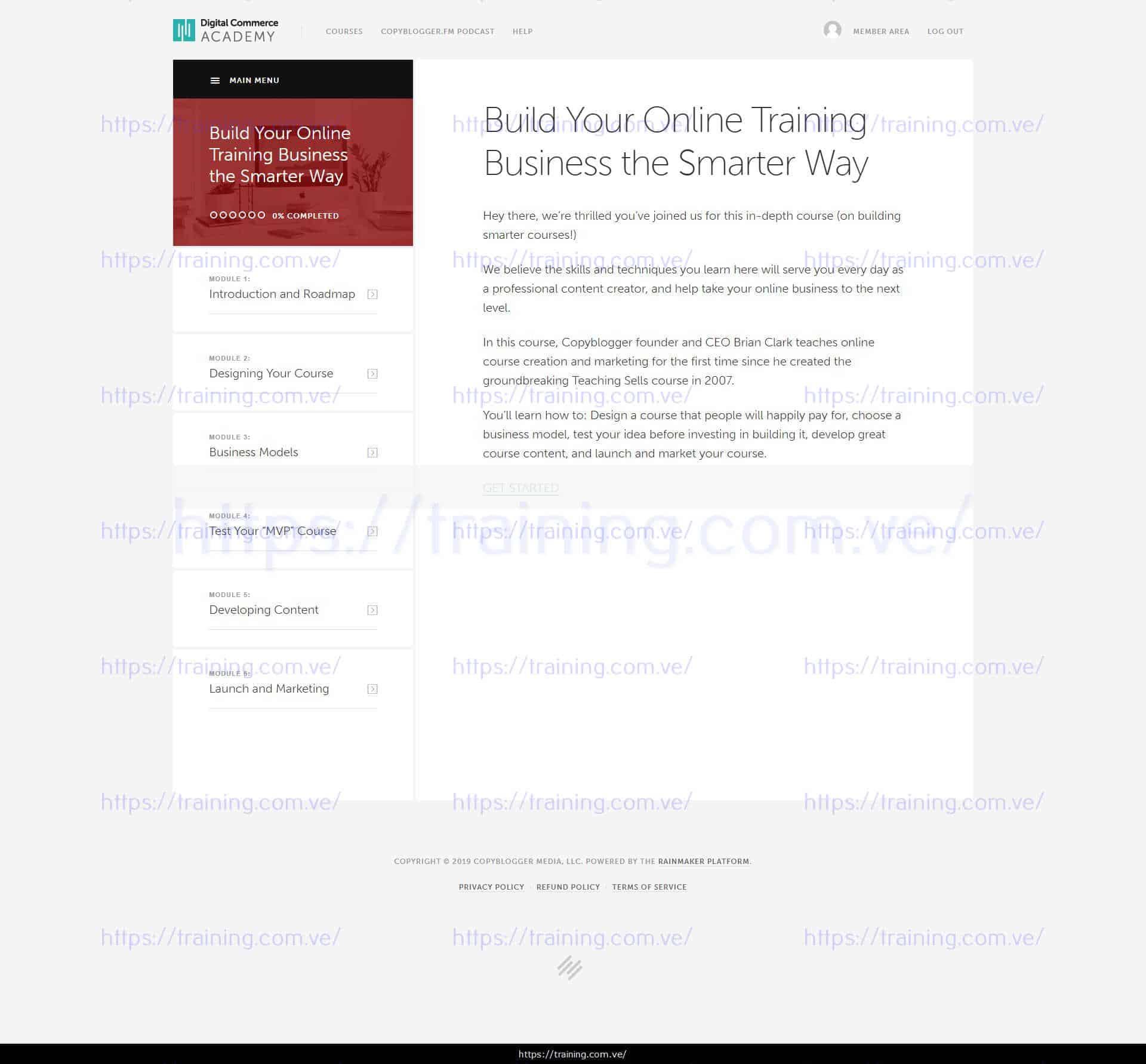 Digital Commerce Institute Bundle by Copyblogger Download