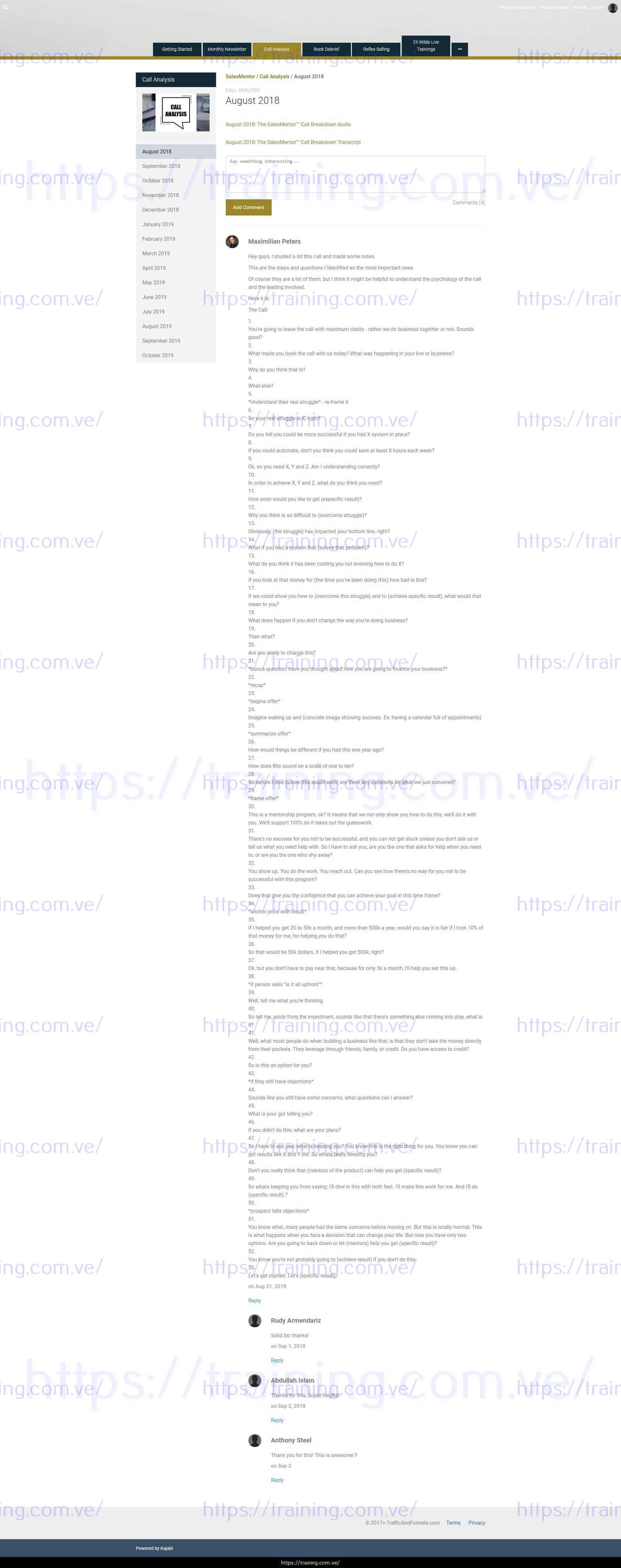 SalesMentor by Traffic & Funnels Download