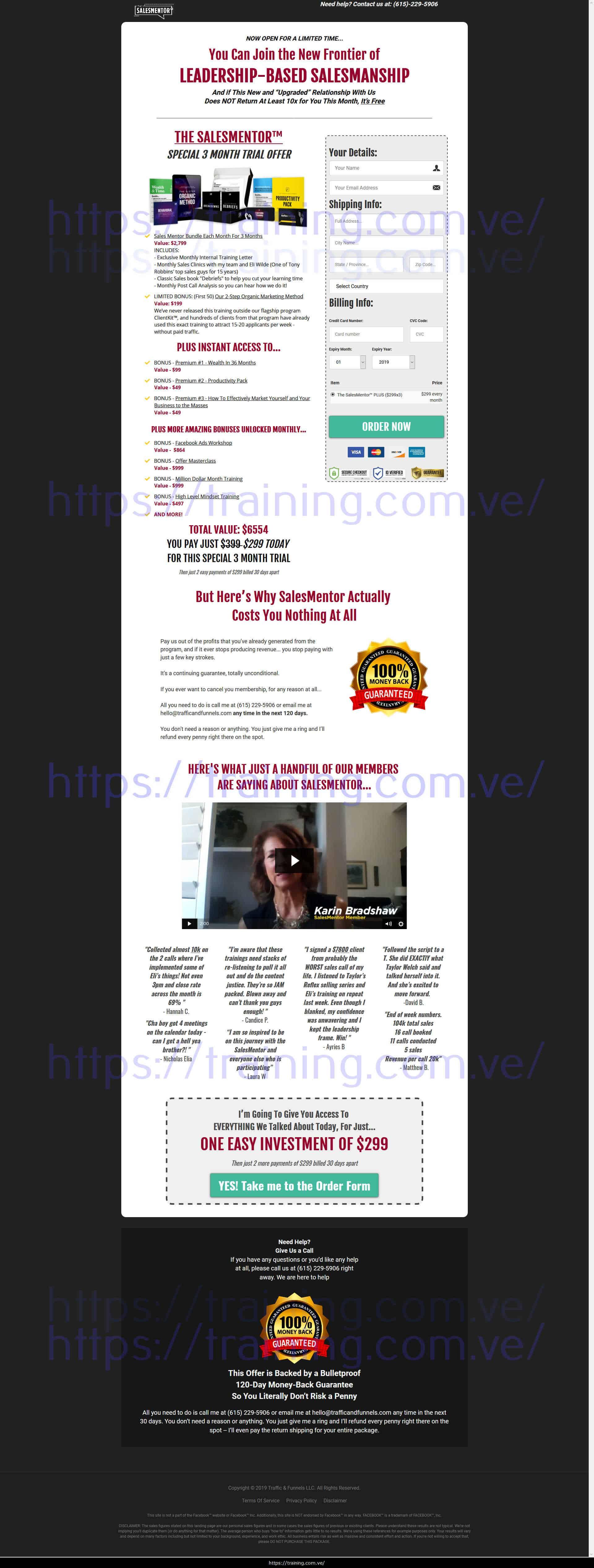 SalesMentor by Traffic & Funnels Buy