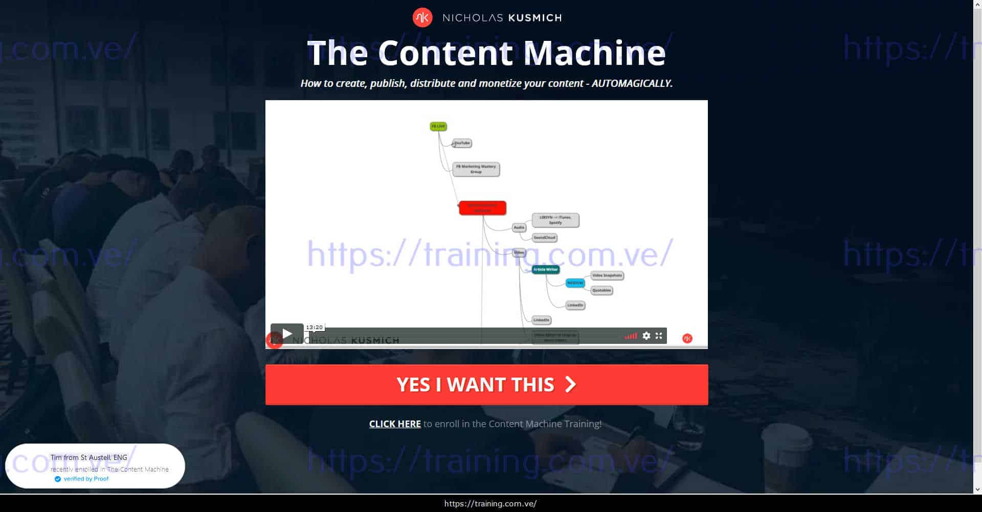 The Content Machine by Nicholas Kusmich Buy