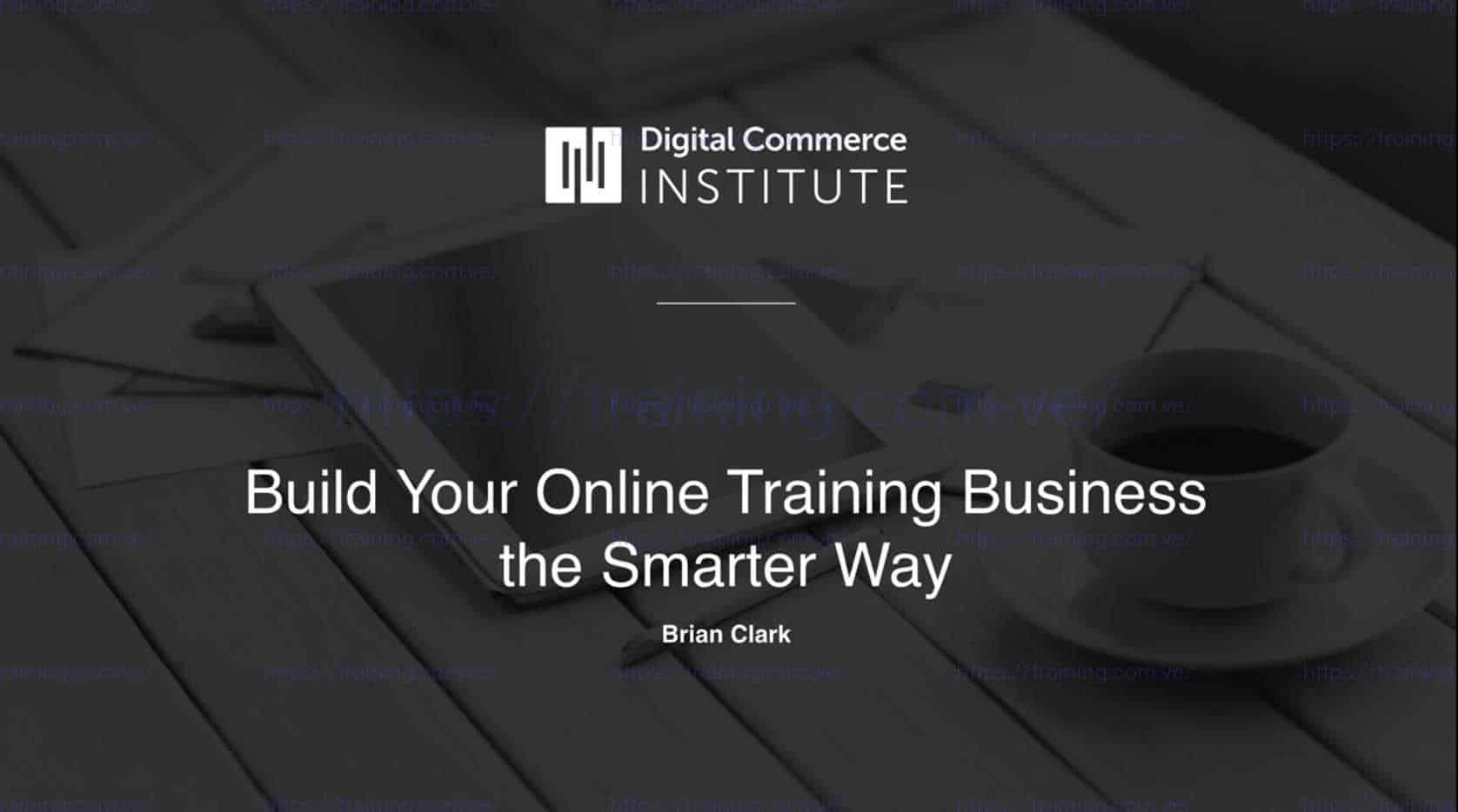 Digital Commerce Institute Bundle by Copyblogger Discount