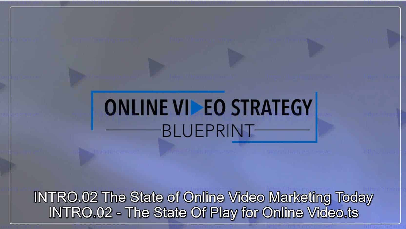 Online Video Strategy Blueprint by Ben Amos Coupon