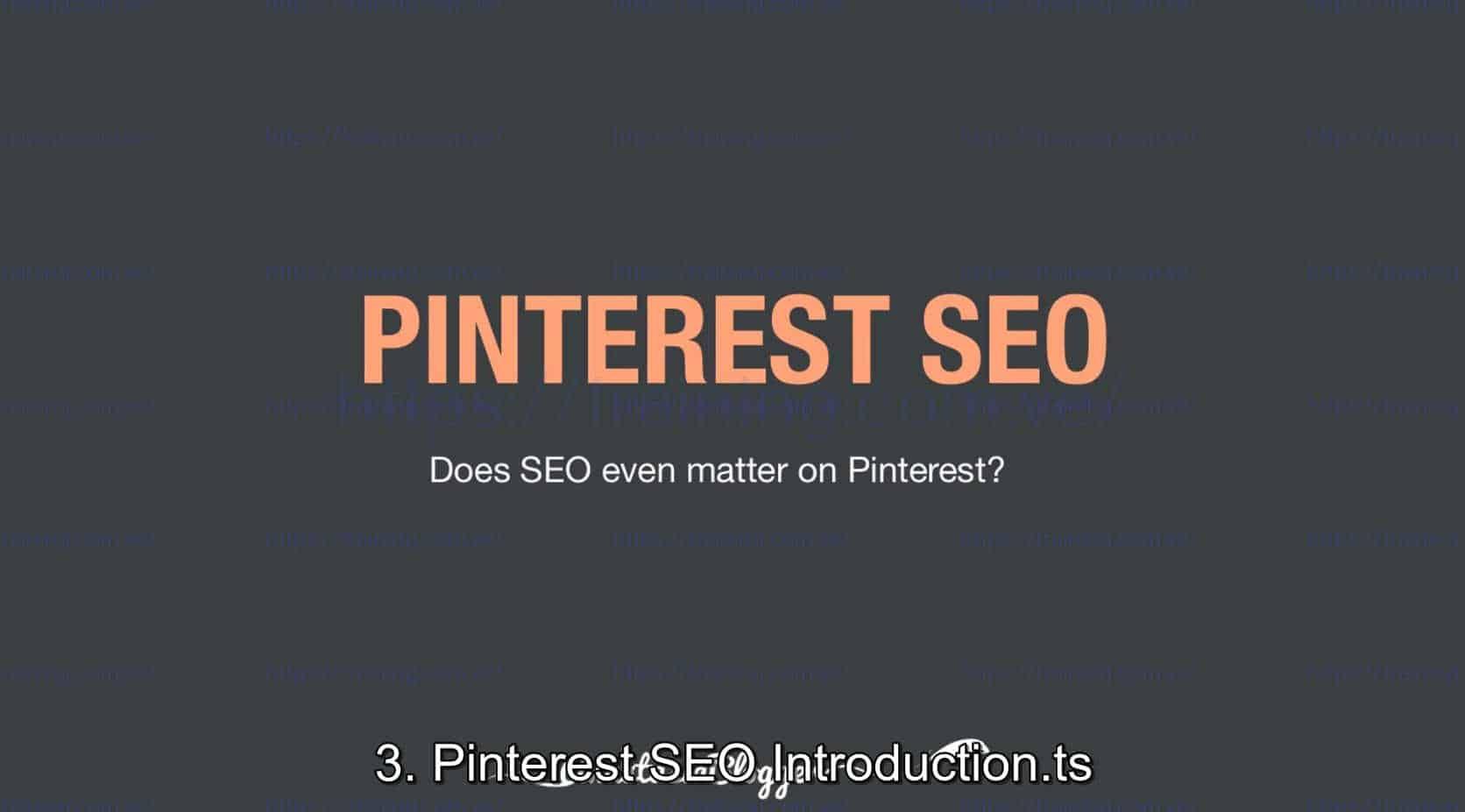 Pinterest SEO Traffic Secrets 2019 by Anastasia Blogger Discount