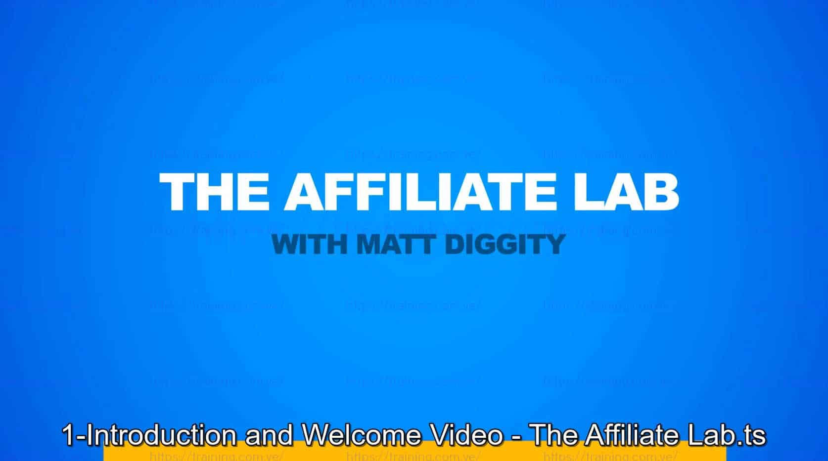 The Affiliate Lab by Matt Diggity Coupon