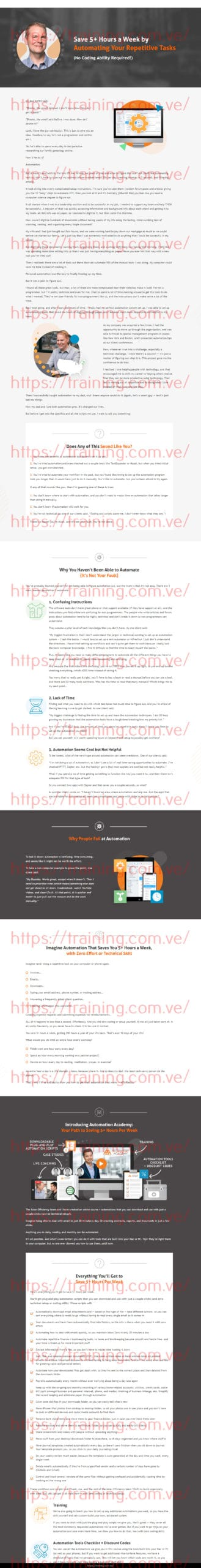 Automation Academy by Asianefficiency Buy
