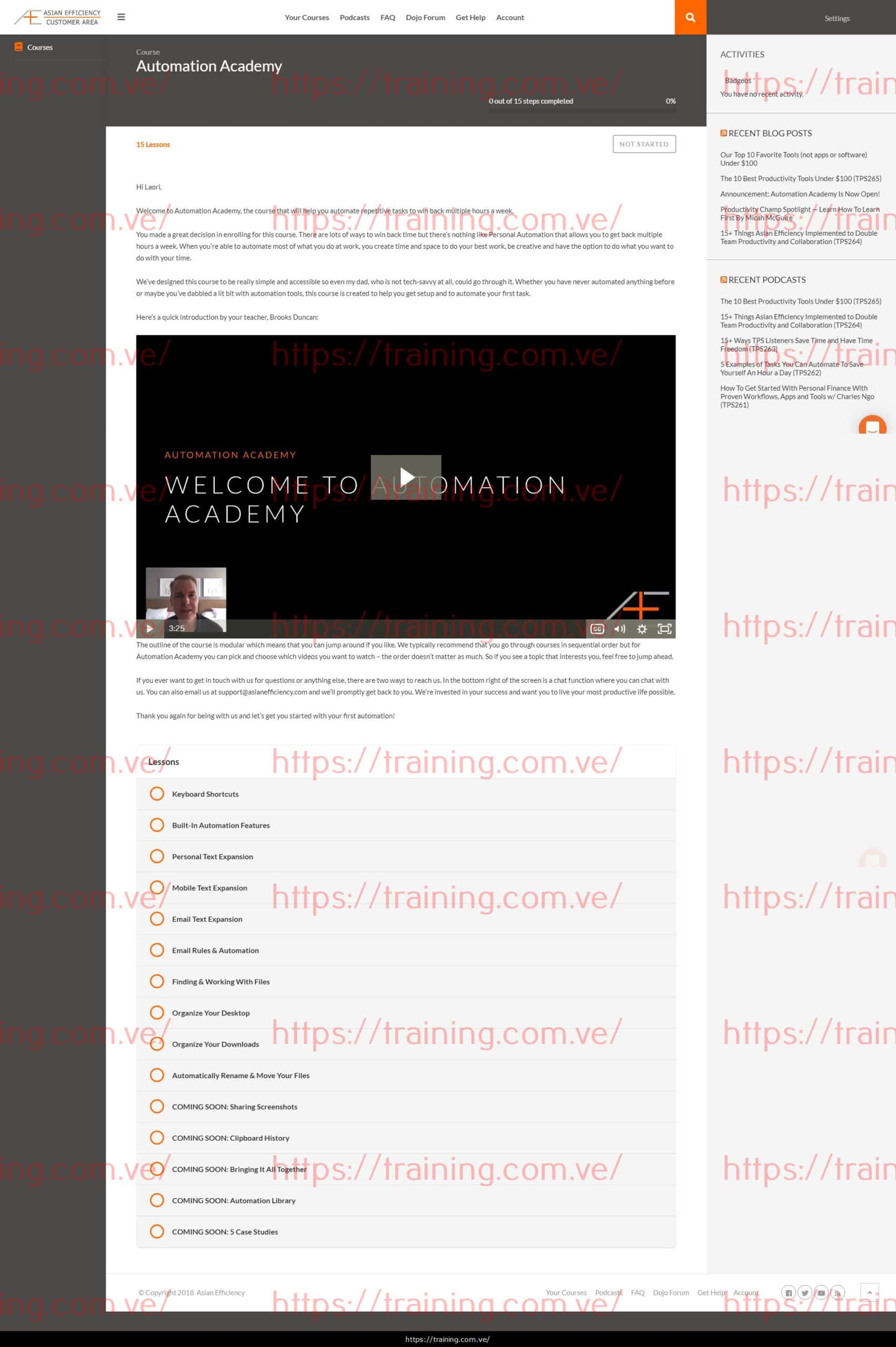 Automation Academy by Asianefficiency Coupon