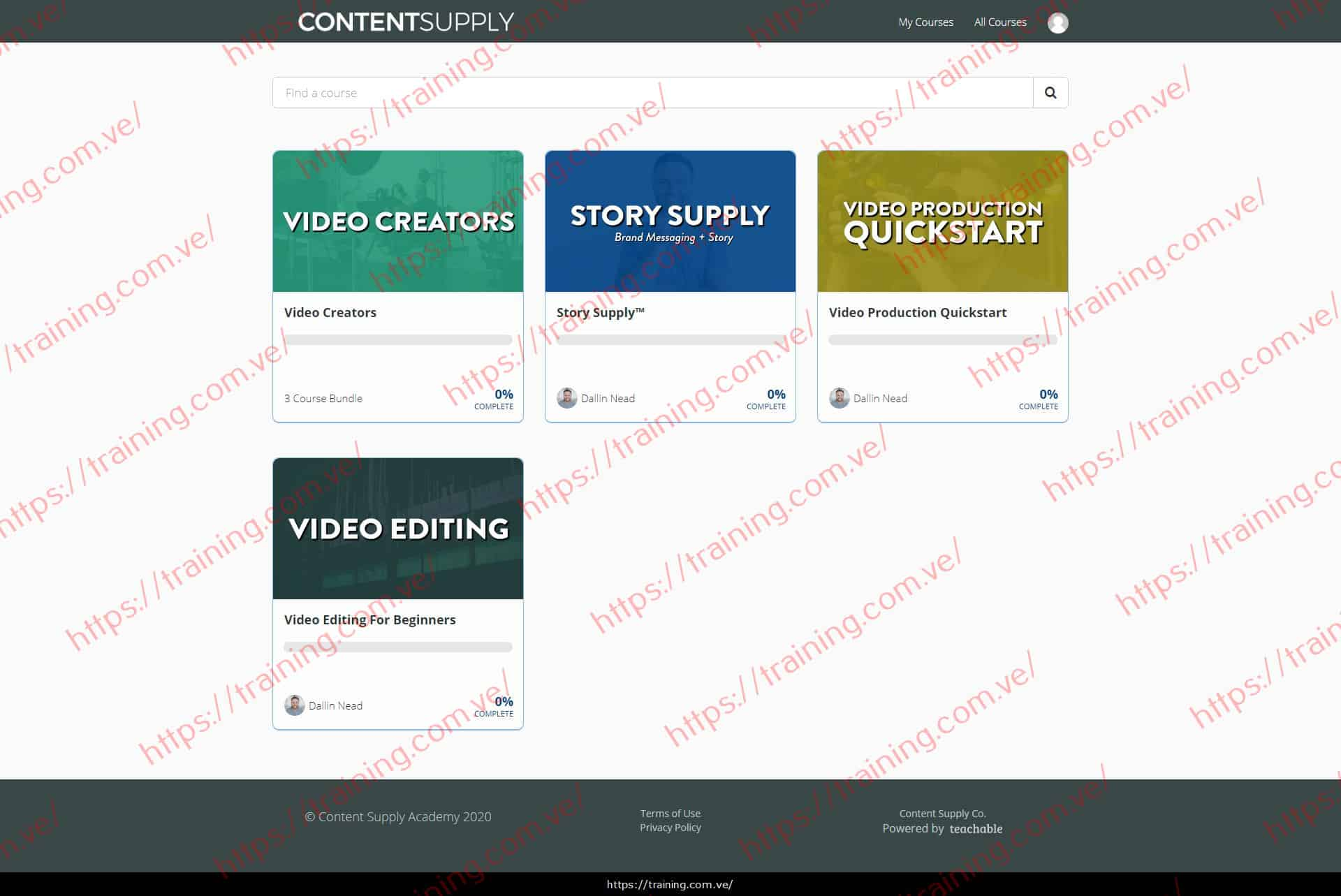 Video Creators by Dallin Nead Buy
