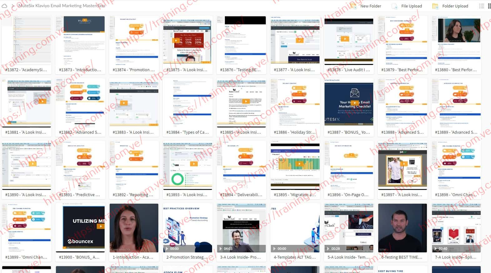 MuteSix Klaviyo Email Marketing Masterclass Download