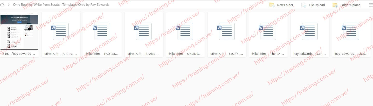 Only Rookies Write from Scratch Templates Only by Ray Edwards Download