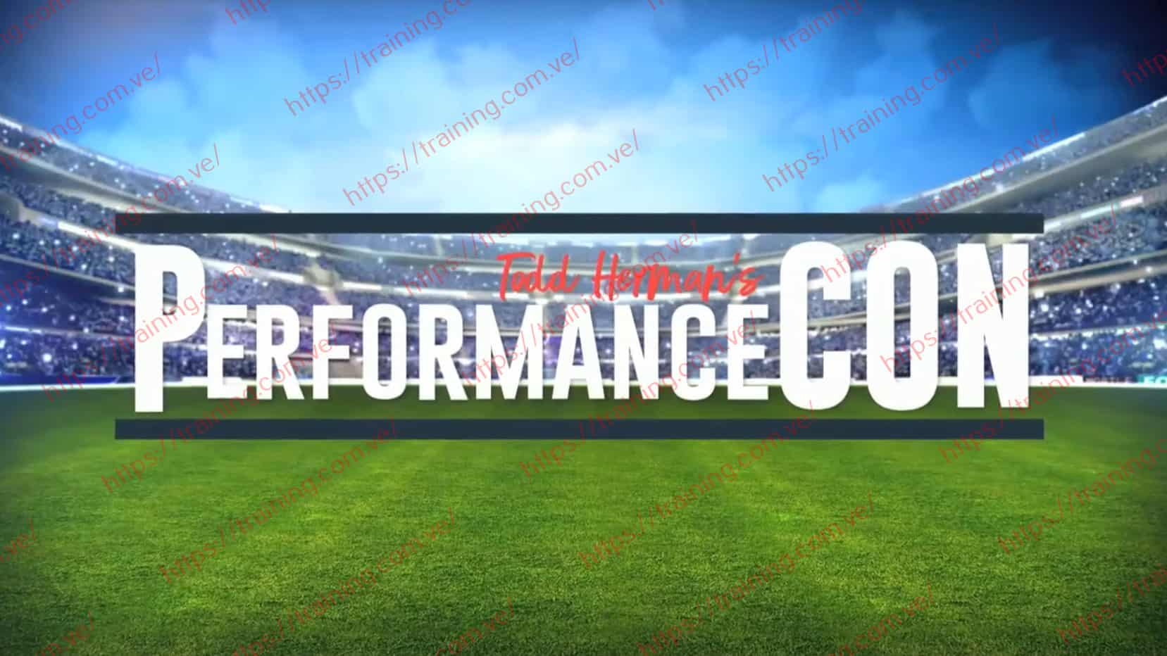PerformanceCON 2019 Event Recordings by Todd Herman Discount