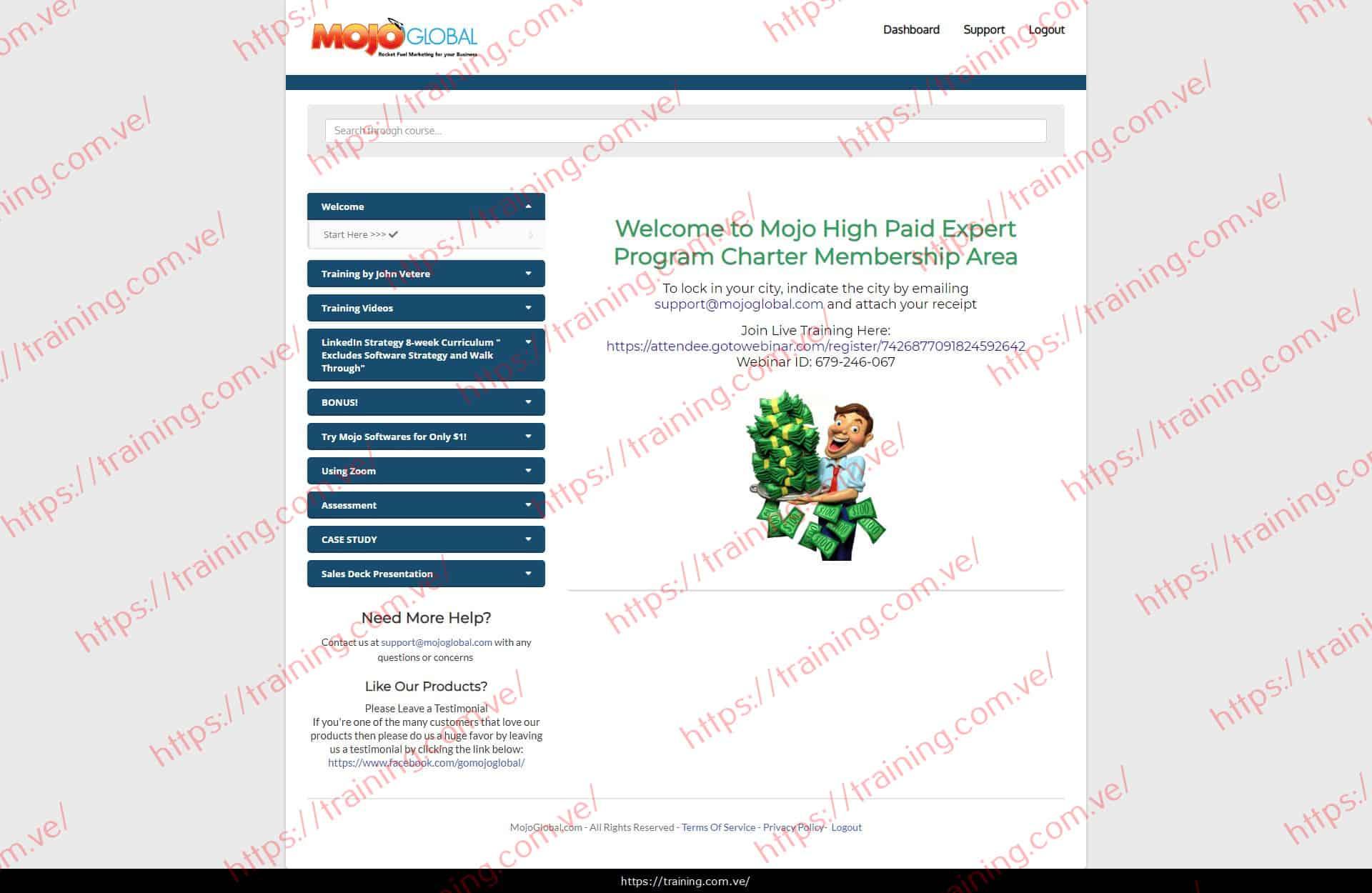 Mojo High Paid Expert Program by Cory Sanchez Ira Rosen Download
