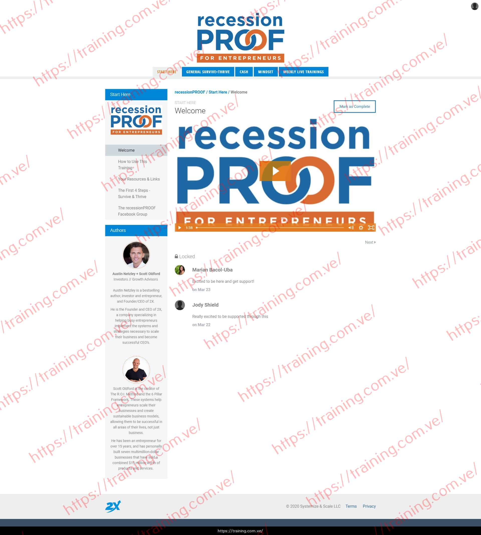RecessionPROOF by Austin Netzley Scott Oldford Download