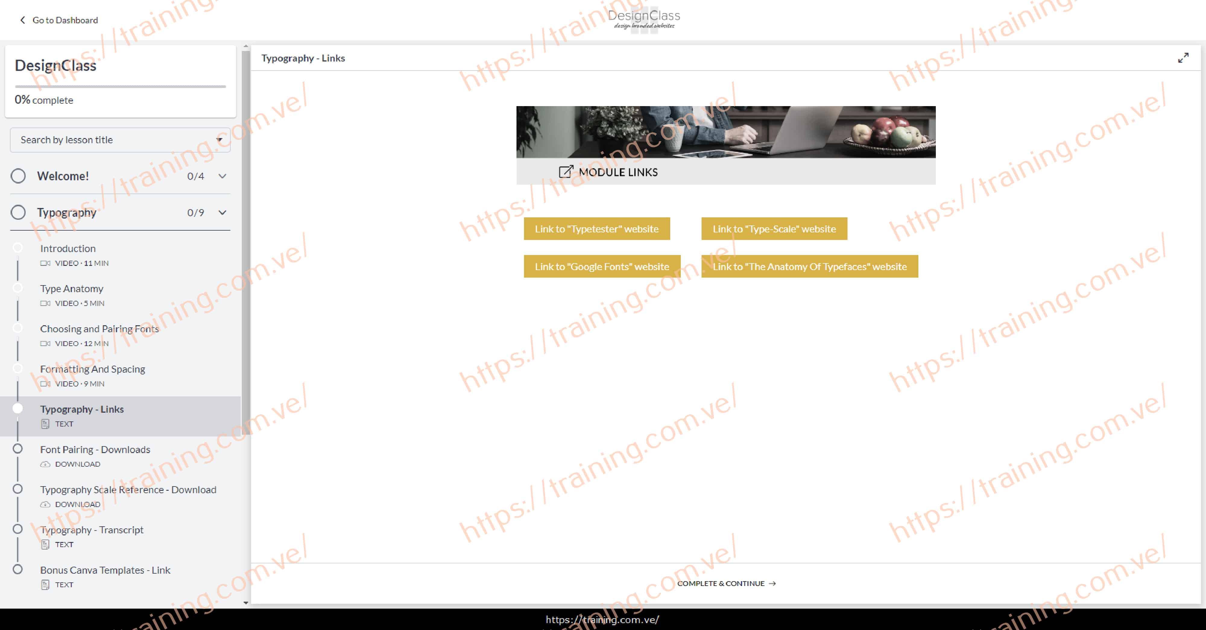 DesignClass by Mor Cohen Download