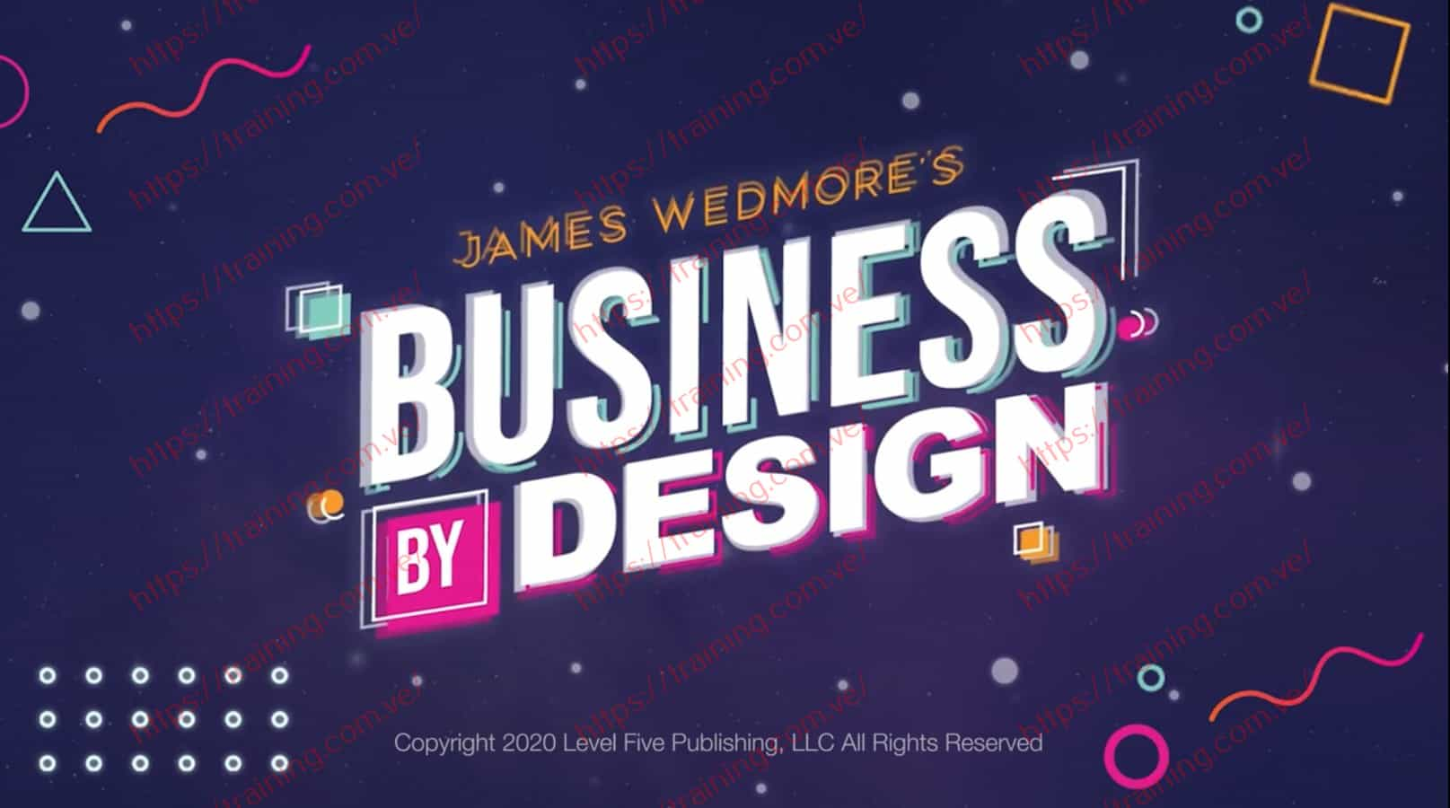 BUSINESS By DESIGN 2020 by James Wedmore Discount