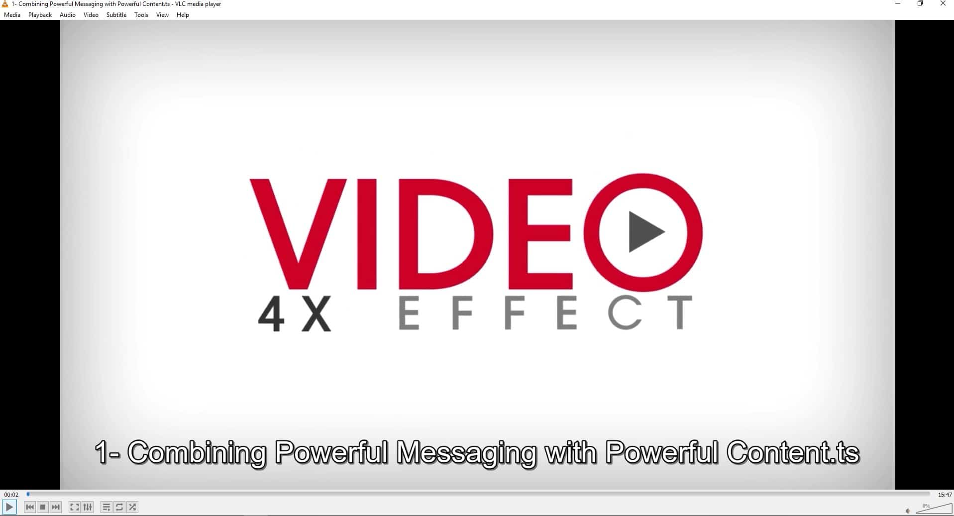The Video 4x Effect 2020 by Brandon Lucero Offer