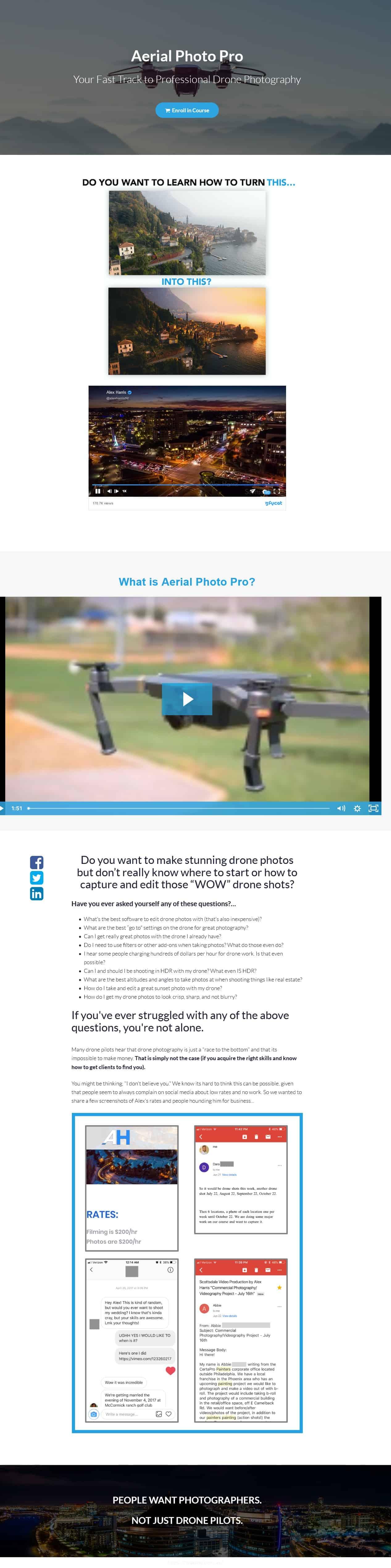 Drone Launch Academy Bundle Sales Page