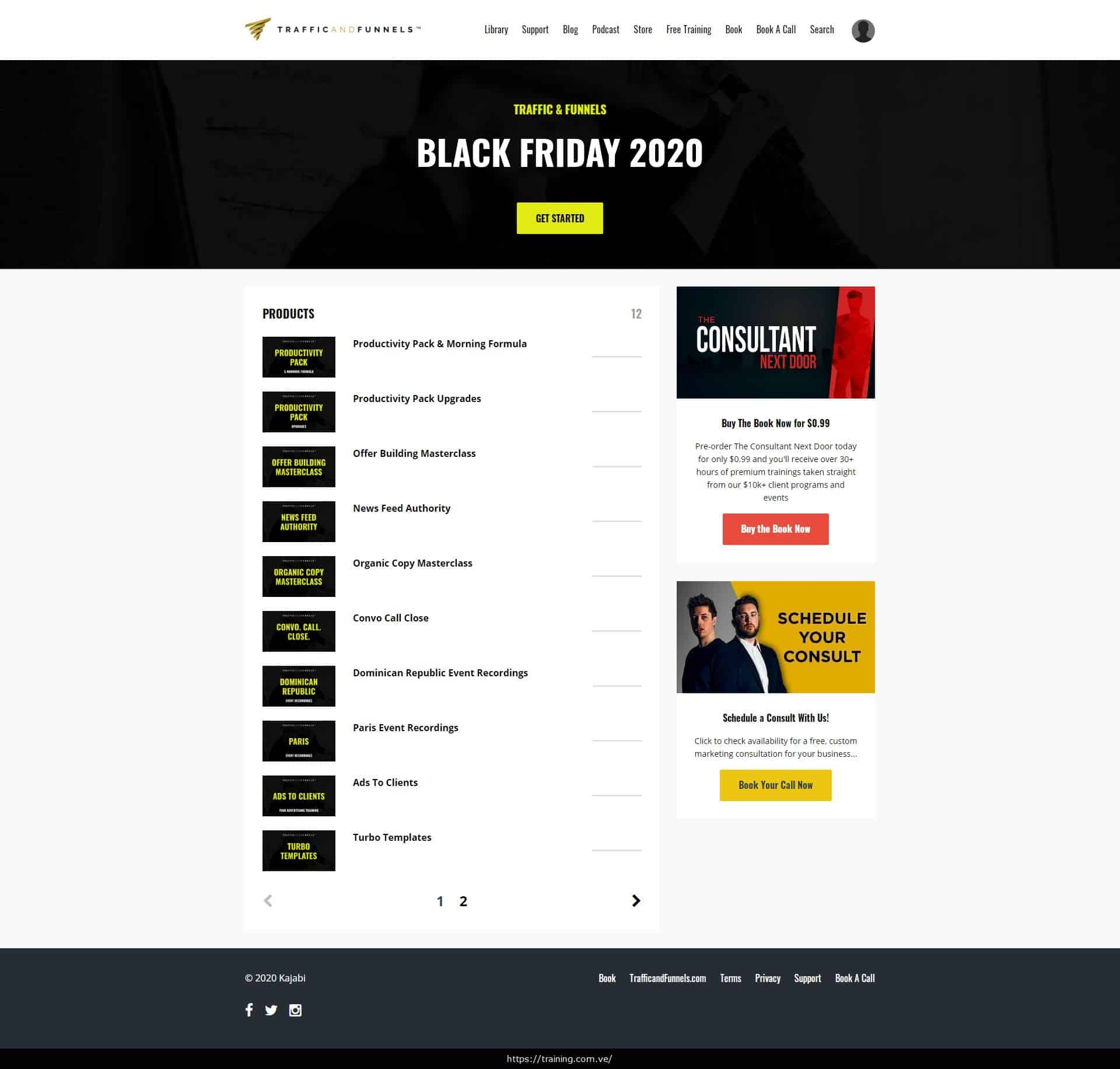 Traffic & Funnels Black Friday 2020 by Taylor Welch Download