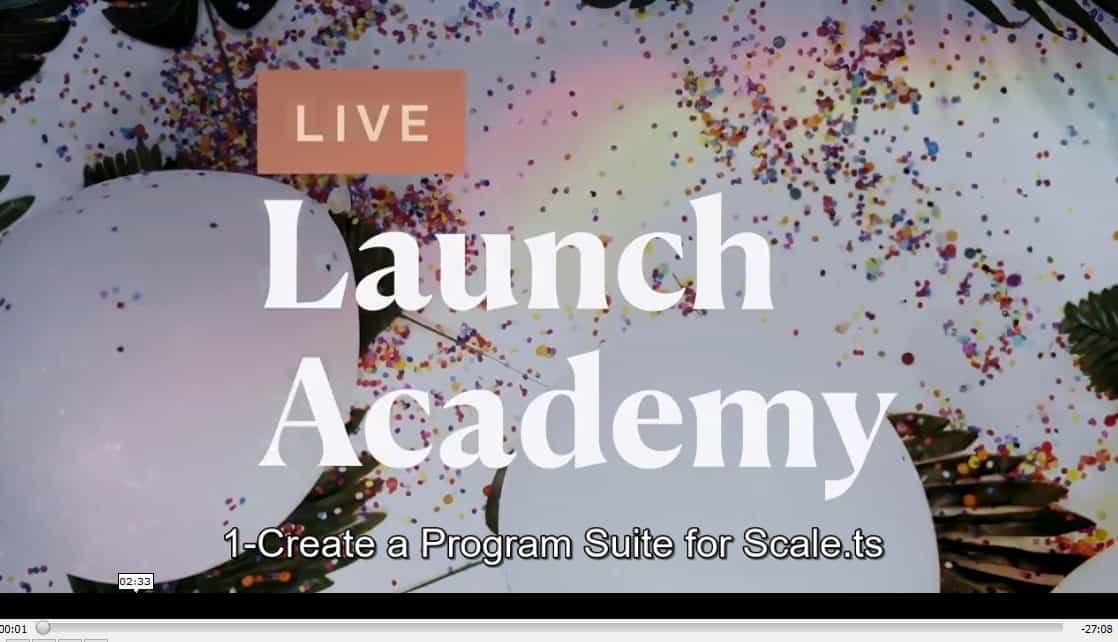 Live Launch Academy by Shannon Lutz Offer