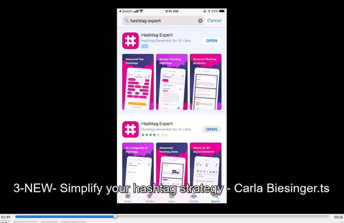 Instagram Secrets To Success by Carla Biesinger buy