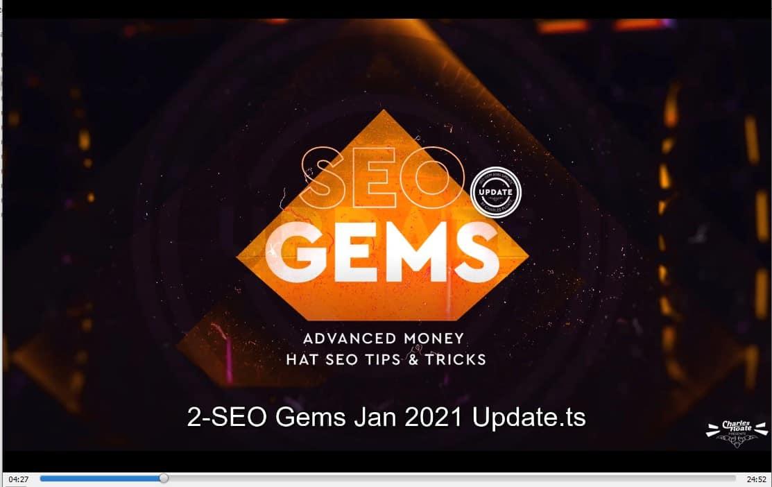 SEO Gems Advanced Money Hat SEO by Charles Floate buy
